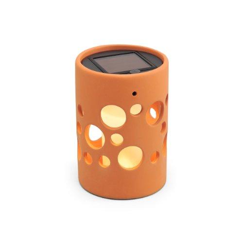 Konstsmide Genova 7800-900 Solarleuchte LED B: 9,5cm T: 9,5cm H: 14cm / Keramik / terracotta