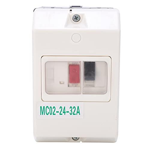 Interruptor de protección del motor, interruptor de circuito de sobrecarga impermeable, protector de línea de distribución con frecuencia 50/60 HZ 220 V 380 V para motor eléctrico