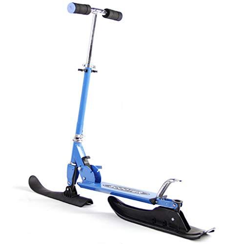 Rory Vielseitig Dual Purpose Ski-Board Mit Rad Schlitten Schnee Schlitten Für Outdoor-Aktivitäten Toboggan Lugten Schlitten Mit Bremse Für Kinder