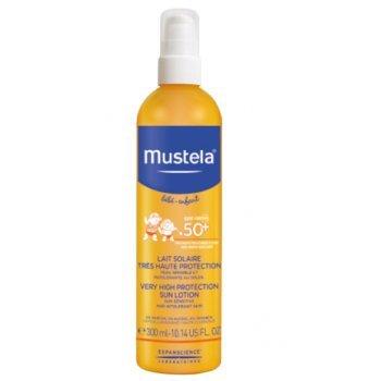 Spray solar muy alta protección 50+ MUSTELA (300 ml)