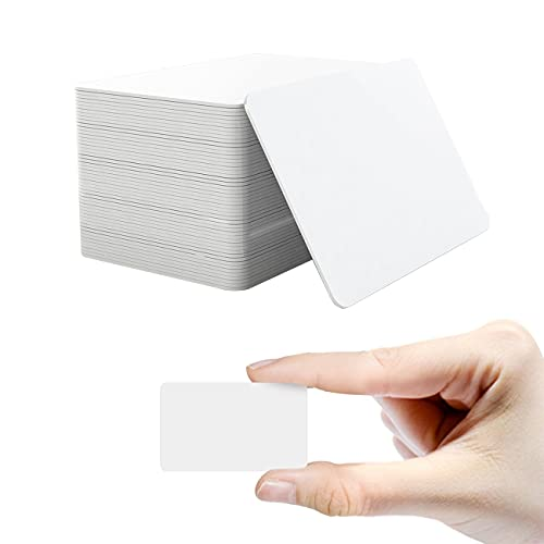 100pcs NTAG215 NFC Cards, Blank PVC Cards,NTAG215 NFC Small Size Tags,Rewritable NFC 215 Tags,100% Compatible with Amiibo and TagMo (Size:1.97X1.18inch)