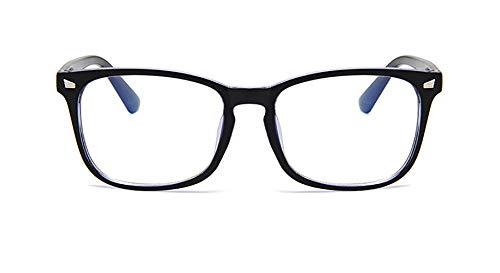 Brilmontuur, wilde klassieke blauwe film bijziendheid brilmontuur, kantoorpersoneel, familie boog, gaming, unisex, duidelijk spiegel,Copper blue