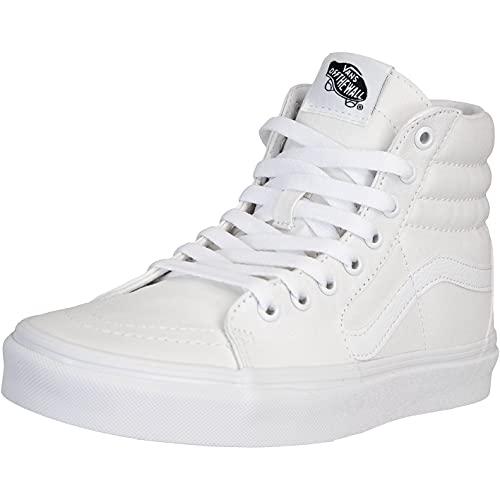 Vans Sk8-Hi Zapatillas, All White, 40 EU