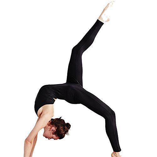 Yishelle Ropa Deportiva para Mujer, Yoga Apretado Transpirable y de Secado rápido Colgando Cuello Mono Antena Yoga Mono Entrenamiento Mono Deportivo Ropa de Yoga de Estiramiento Ajustado
