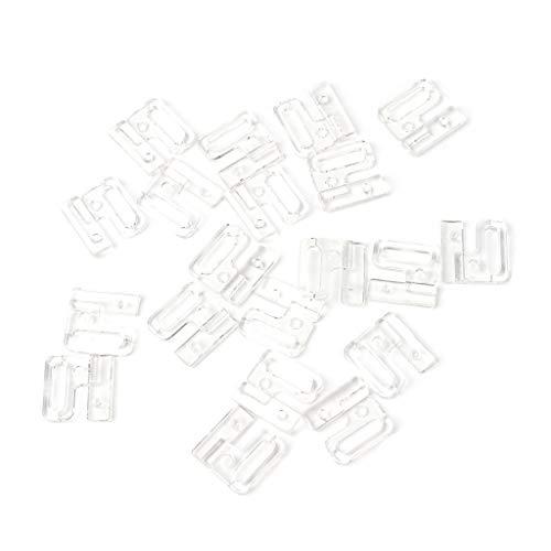 mdhsh 1 Bolsa de plástico Hebilla de Ropa Interior, Ganchos y Cierre de Costura en Traje de baño Sujetador