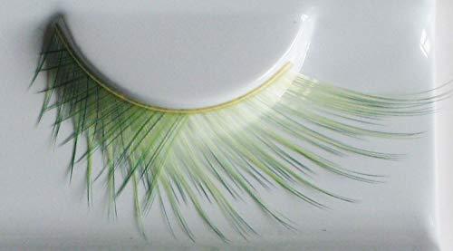 Eulenspiegel 001226 - künstliche Wimpern - Witch Green