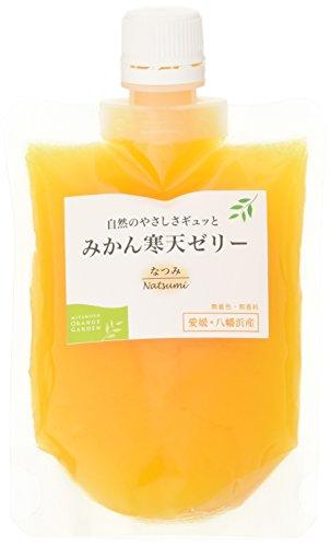 ミヤモトオレンジガーデン 国産 愛媛産 みかん寒天ゼリー なつみ 170g
