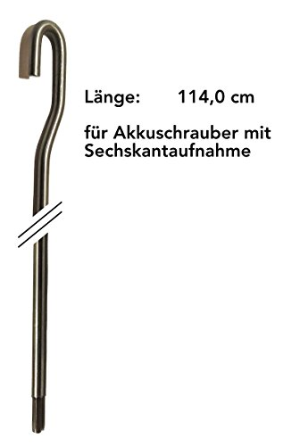 Ebeling *** Markisenkurbel für Akkuschrauber ***elektrisch elektromechanisch Markise