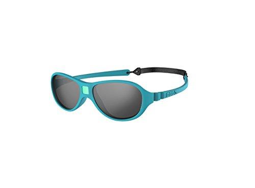 Ki Et La Ki ET LA - Babysonnenbrille im Stil Jokaki - 100% unzerbrechlich - Pfauenblau - 12-30 Monate