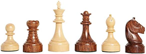 The House of Staunton The Mechanics Institute Commemorative Chess Set - Pieces Only - 4.25