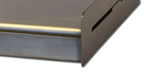 Sizzle-Q SQ180 100% Stainless Steel Universal...