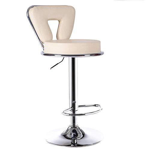 Sedie Sgabello da bar con struttura in metallo, sgabello alto regolabile in altezza a 360° ghk