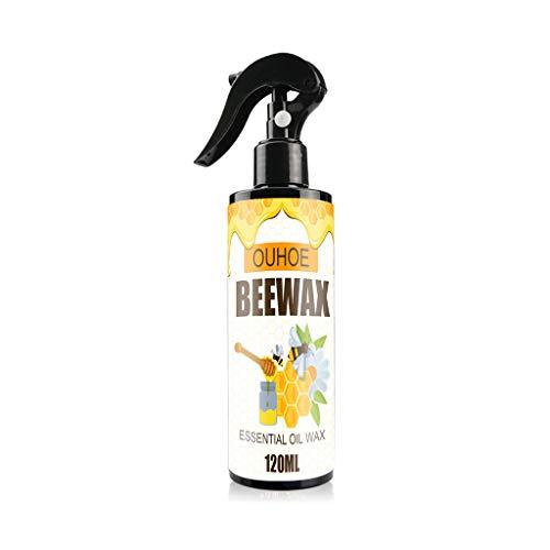 Mehrzweck-Bienenwachs Möbelpolitur Holzwachs Spray für Holzreiniger Möbelpflege Öl Wachs Holzwürze Bienenwachs Spray