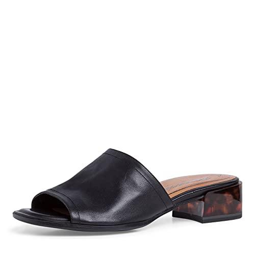 Tamaris Femmes Sandale à Talon 1-1-27233-26 001 Noir Taille: 38 EU