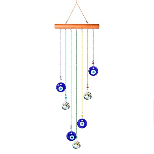 ZZABC FLJJZHSHP Crystal Ball Wind Chimes for Home Garden Hanging Decor Home Decoration Wind bell Gift