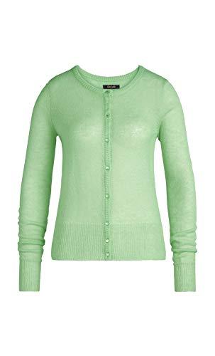King Louie Strickjacke Femme Col Rond Fluffy Mint Green Gr. S, grün