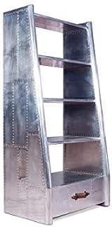 GAL Designer Aviator étagère Ouverte en Aluminium pour la décoration intérieure Fourrure (étagère Simple étroite) (Color :...