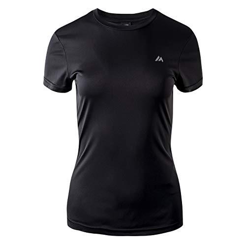 martes Damen Lady BISIC Funktions T-Shirt, Black, M