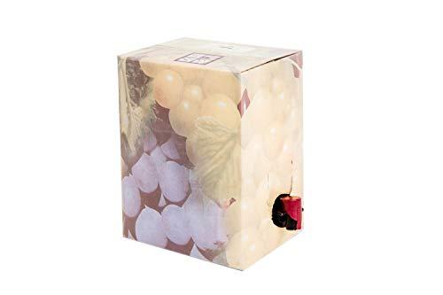 Vino en Bag in Box 15L Vino Blanco - Inmejorable calidad/precio - Transporte gratis. (Brik equivalente a 20 Botellas de 750 ml) (Bag in Box 15 Litros)
