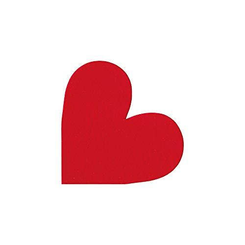 Cuore – Tovaglioli in Airlaid fustellati a forma di cuore