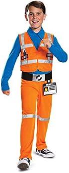 Disguise Emmet LEGO Movie 2 Boys' Jumpsuit Costume (3T-4T)
