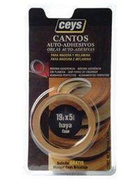 Ceys - Canto autoadhesivo para madera 5 m wengue