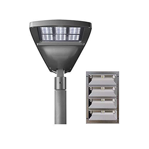 IGuzzini Wow Mini LED Faro su palo 620x307mm Illuminazione Stradale O Urbana Per Esterno Luce Diretta By Renzo Piano - 4000°K LUCE NEUTRA