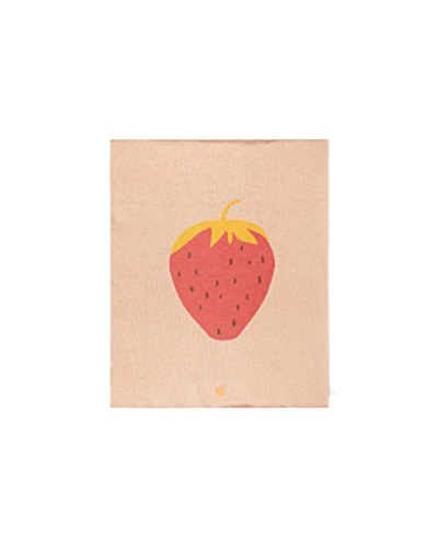 Couverture coton fraise - Ferm Living Kids