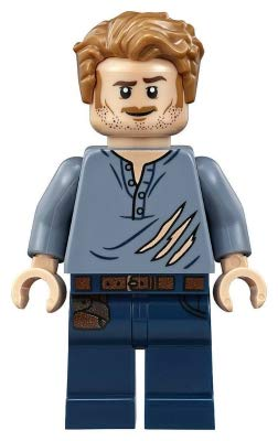 LEGO Jurassic World Owen Grady - Minifigura de 75929
