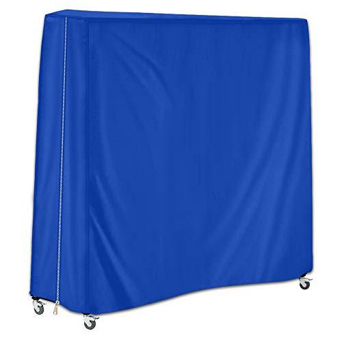 HALOKETI Housse de Table de ping-Pong,Usage extérieur,étanche,Crème Solaire,étanche à la poussière,Une Protection complète (Bleu Marin)
