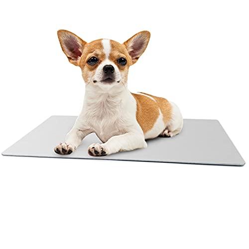 犬ひんやりアルミマット 大型犬 ペット涼感アルミプレート 猫クールボード 冷え冷え 猫 ウサギ 適用 暑さ対策 夏用 熱中症対策 大きいサイズ 猫ひんやりマット 犬クールマット