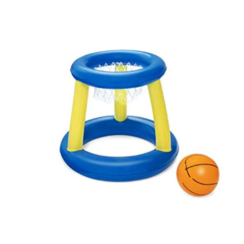 FASW Brinquedo inflável flutuante, brinquedo aquático, esportes aquáticos, voleibol/handebol/basquete, acessório de natação para crianças e adultos