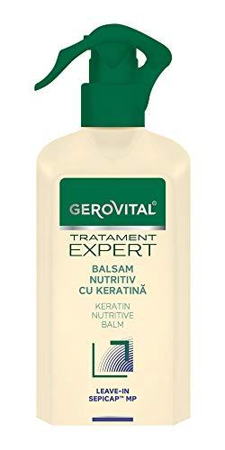 Gerovital Tratament Expert, ACONDICIONADOR DE PELUQERÍA CON KERATINA, Cuidado del cabello, 150 ml