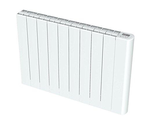 Cayenne NELIA20 NELIA - Radiador de inercia, 2000 W, color blanco brillante