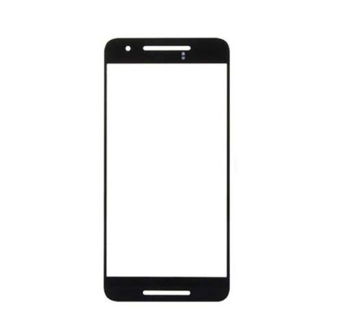 MrSpares Front Screen Outer Touch Glass Cover Panel Lens for Google Nexus 6P : Black