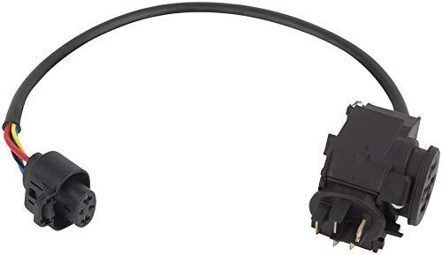 Bosch auf Keilrahmen Block Batterie Cable for Frame-Mounted 520 mm (E-Bike Power Pack) Kabelbaum-Kabel, Schwarz