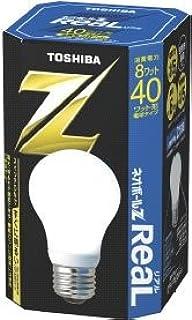 東芝 ネオボールZリアル 電球形蛍光ランプ 電球40ワットタイプ 昼光色 EFA10ED/8-R 口金直径26mm