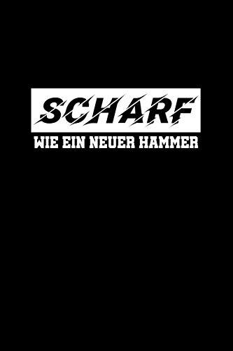 Scharf Wie Ein Neuer Hammer: A5 (Handtaschenformat) Geocaching Notizbuch für über 200 Geocaches. Geocaching Journal für gefundene Caches mit vorgedruckten Notizfeldern.