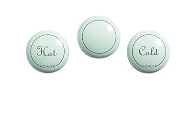 KOHLER GP1077792-0 Genuine Part Fairfax Widespread Plug Buttons, White