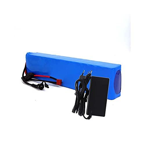 FREEDOH Paquete Batería Litio Bicicleta Eléctrica 36 V 10 Ah 10S3P Batería Carga Iones Litio para Motor 600 W Paquete Batería PVC Impermeable Personalizable con Cargador BMS + 42 V 2A
