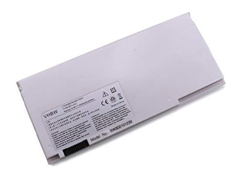 vhbw Batterie Compatible avec MSI X320, X340, X360, X400, X410, X430 Laptop (4400mAh, 14.8V, Li-ION, Blanc)