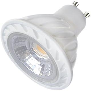Laes 983470 Bombilla Dicroica COB LED GU10, 7 W, Blanco, 50 x 57 mm