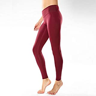 BEESCLOVER Women's Running Leggings Slimming Training Exercise Pants with Pockets
