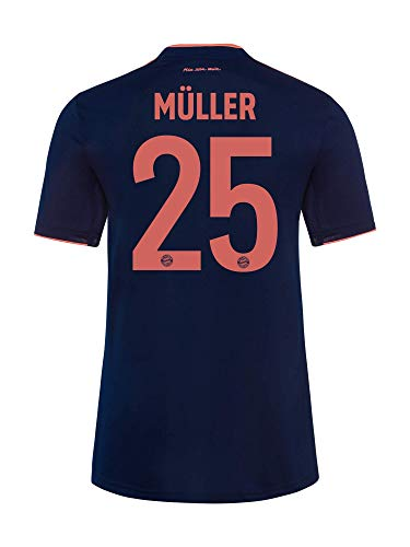 FC Bayern München Trikot Champions League 2019/20, Müller, Größe L