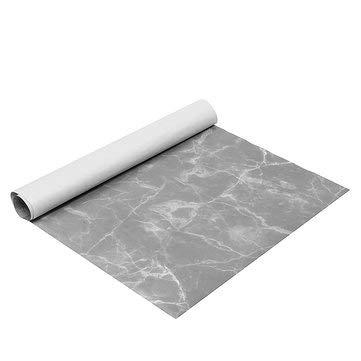 DyNamic 10 Stks/Set 70 * 50 Cm Marmer Inpakpapier Geschenkverpakking Luxe Glans Verjaardag Bruiloft Decoraties - Grijs