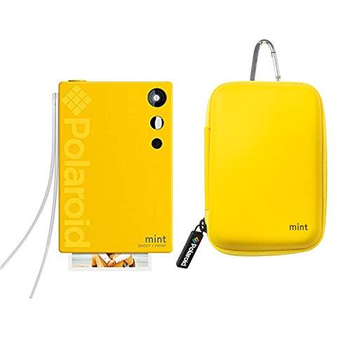 Polaroid Mint Sofortbildkamera (Gelb) Fotoautomat Bündeln mit Neopren Etui