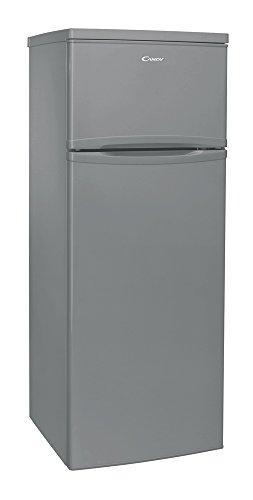 Candy CCDS 5142X Libera installazione 204L A+ Acciaio inossidabile frigorifero con congelatore