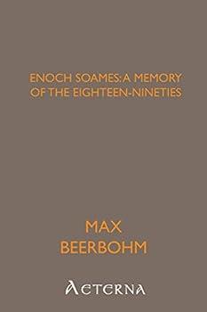 Paperback Enoch Soames: a memory of the eighteen-nineties Book