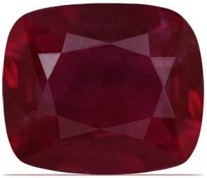 GemsNY RGL Max 56% OFF Certified Popular products Untreated 0.62 Natural Ruby Cushion Carat