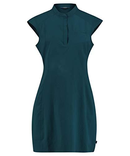 Meru Damen Kleid Caucasia Kurzarm anthrazit (201) 42